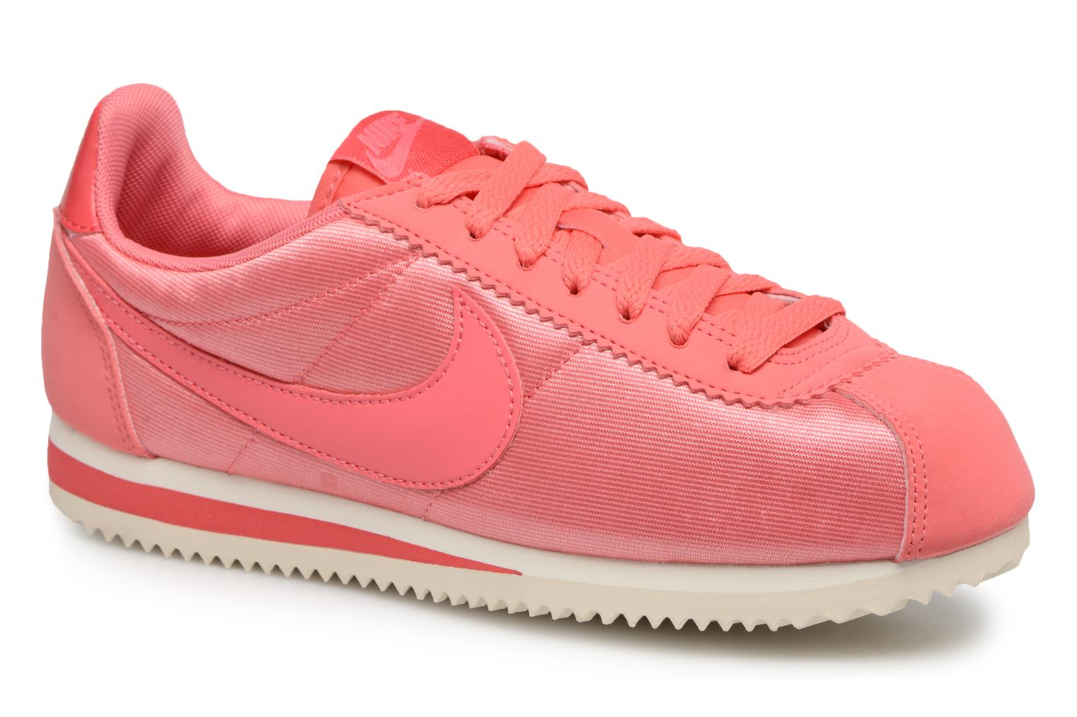 Nike Wmns Classic Cortez Nylon (Rose) - Baskets en Más cómodo Chaussures casual sauvages