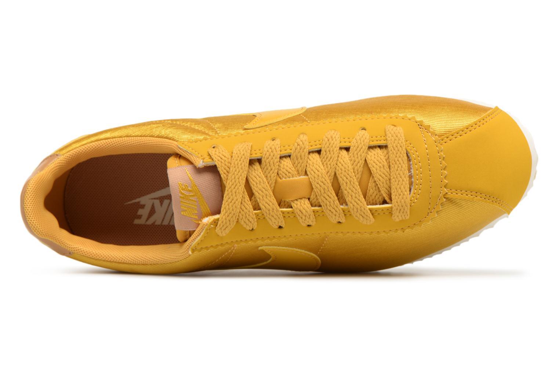 Baskets Nike Wmns Classic Cortez Nylon Jaune vue gauche