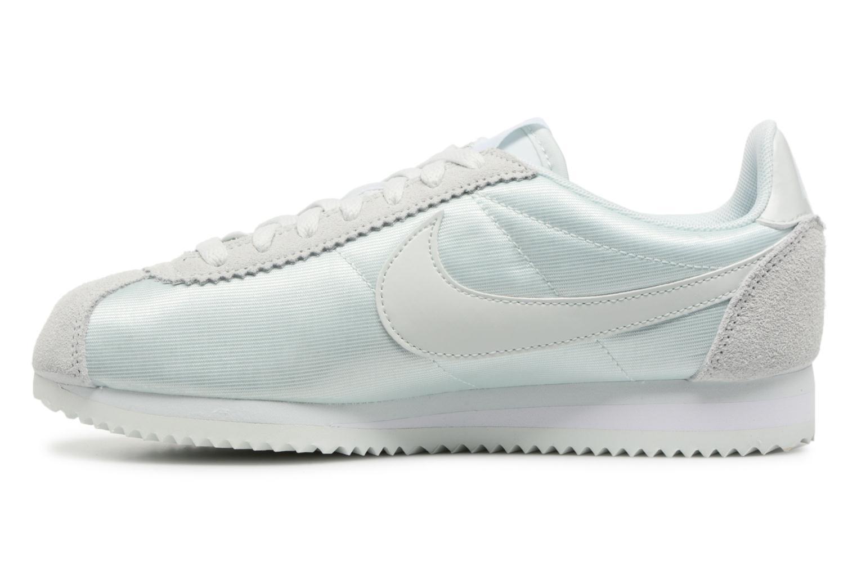 Sneaker Nike Wmns Classic Cortez Nylon grün ansicht von vorne