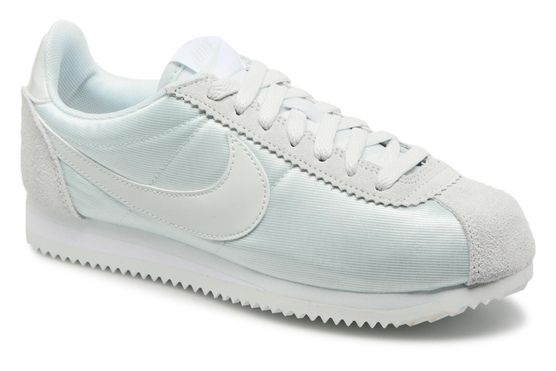 Grey Cortez Classic Nike Grey Wmns white Nylon Barely barely qpEXap