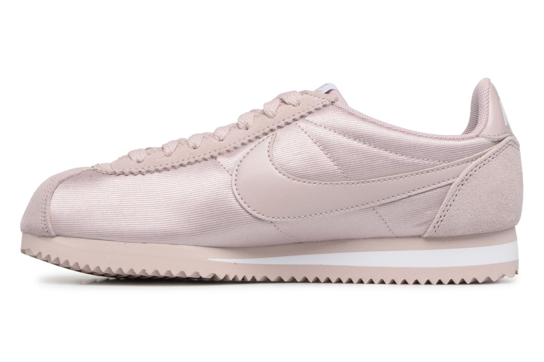 Sneaker Nike Wmns Classic Cortez Nylon rosa ansicht von vorne