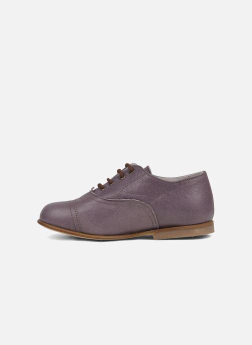 Chaussures à lacets PèPè Coma Violet vue face