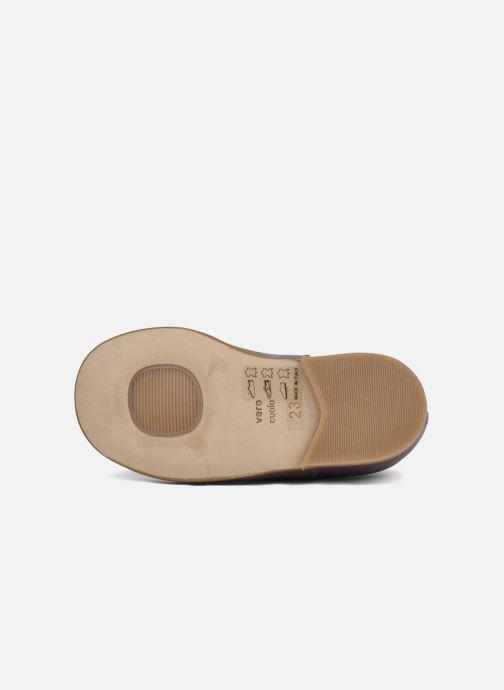 Chaussures à lacets PèPè Coma Violet vue haut
