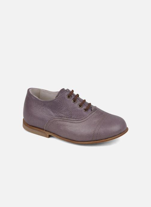 Lace-up shoes PèPè Coma Purple detailed view/ Pair view
