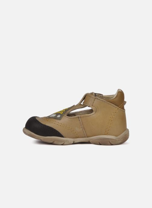 Bottines et boots GBB Leopold Marron vue face