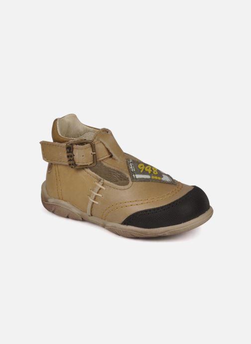 Bottines et boots GBB Leopold Marron vue détail/paire