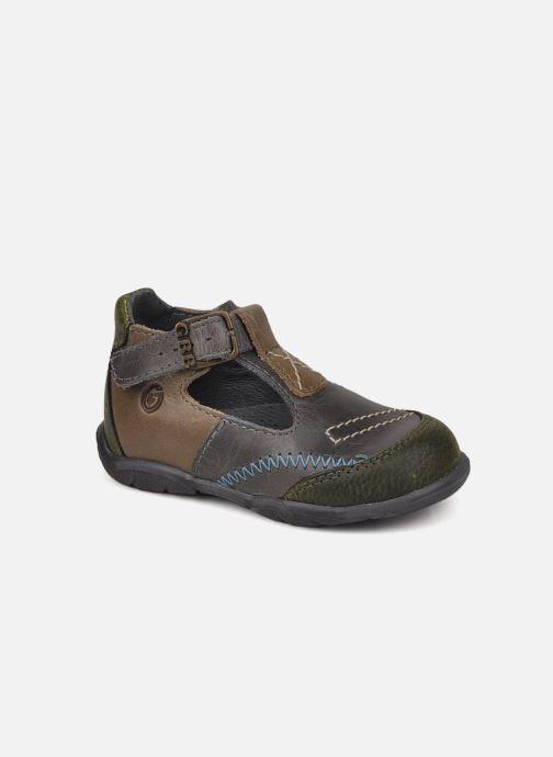 Sommersko GBB Lamas Grå detaljeret billede af skoene