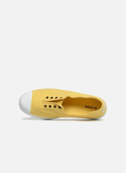 Trainers Victoria Victoria Elastique W Yellow view from the left