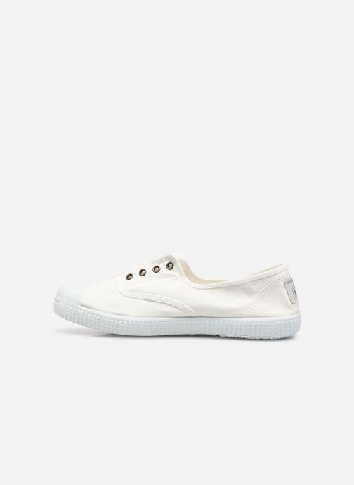Sneaker Victoria Victoria Elastique W weiß ansicht von vorne