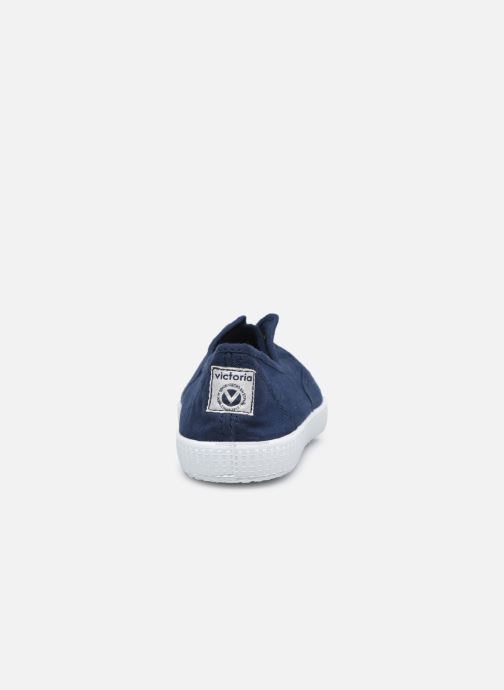 Sneakers Victoria Victoria Elastique W Azzurro immagine destra