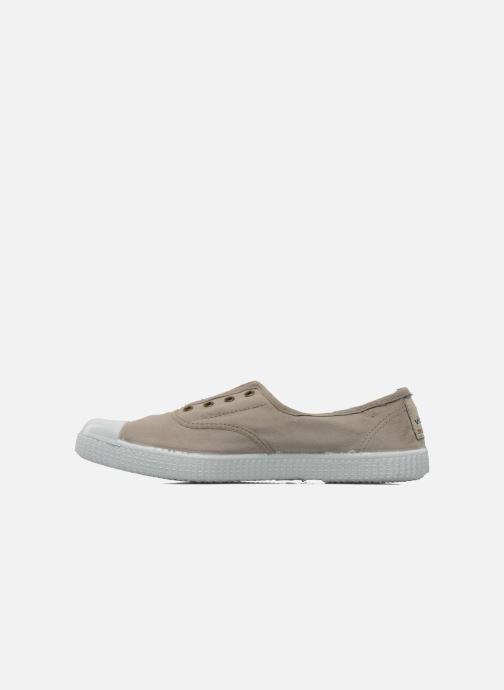 Sneaker Victoria Victoria Elastique W beige ansicht von vorne