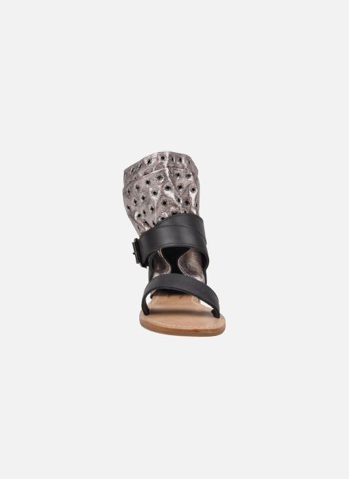 Sandales et nu-pieds Mellow Yellow Minihopeful Argent vue portées chaussures