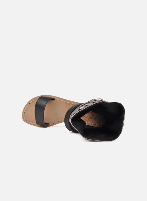 Sandales et nu-pieds Mellow Yellow Minihopeful Argent vue gauche