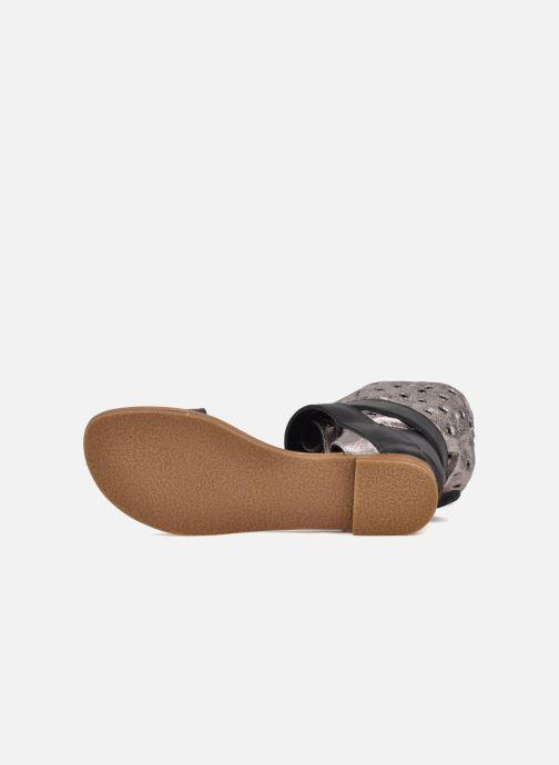 Sandales et nu-pieds Mellow Yellow Minihopeful Argent vue haut