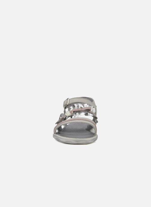 Sandales et nu-pieds Hello Kitty Kidans Blanc vue portées chaussures