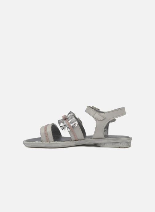 Sandales et nu-pieds Hello Kitty Kidans Blanc vue face