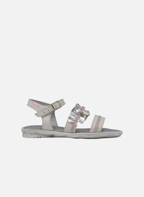 Sandales et nu-pieds Hello Kitty Kidans Blanc vue derrière