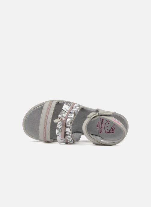 Sandales et nu-pieds Hello Kitty Kidans Blanc vue gauche