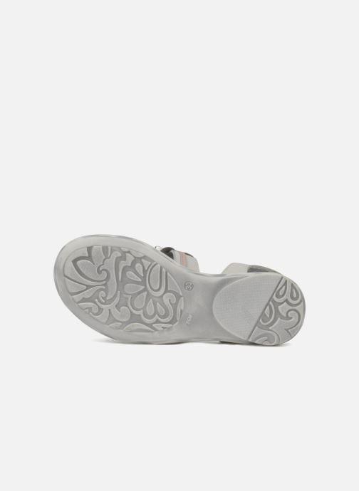 Sandales et nu-pieds Hello Kitty Kidans Blanc vue haut
