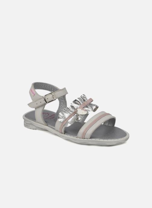 Sandales et nu-pieds Hello Kitty Kidans Blanc vue détail/paire