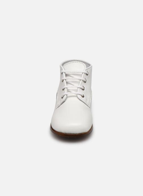 Bottines et boots Little Mary Miloto Blanc vue portées chaussures
