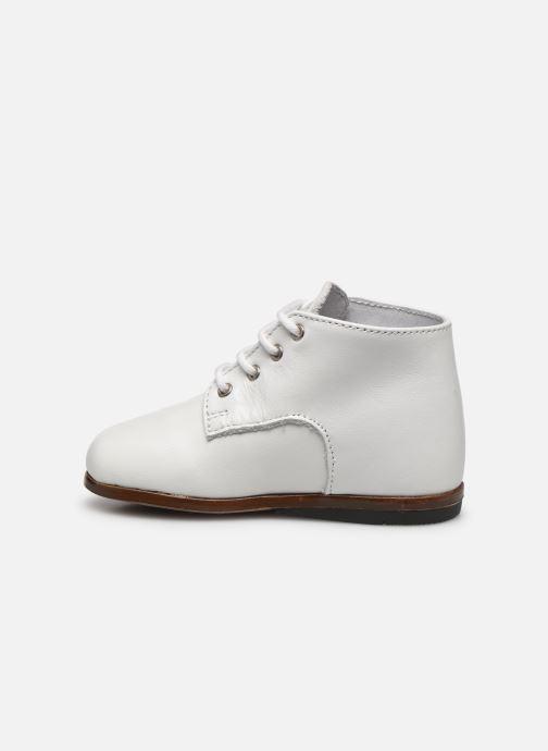 Bottines et boots Little Mary Miloto Blanc vue face