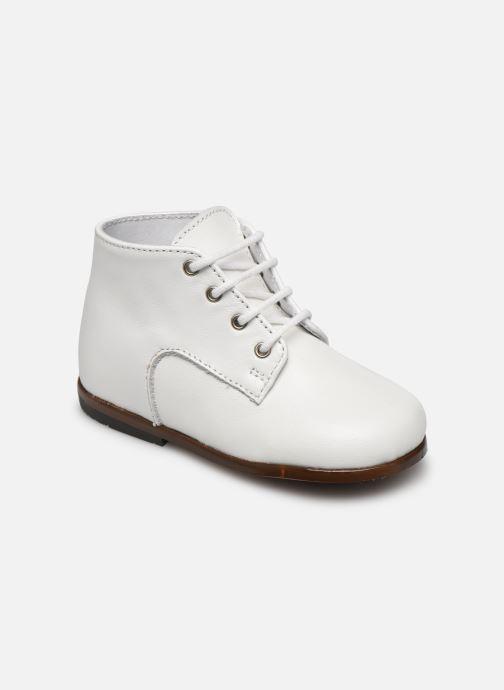 Boots en enkellaarsjes Little Mary Miloto Wit detail