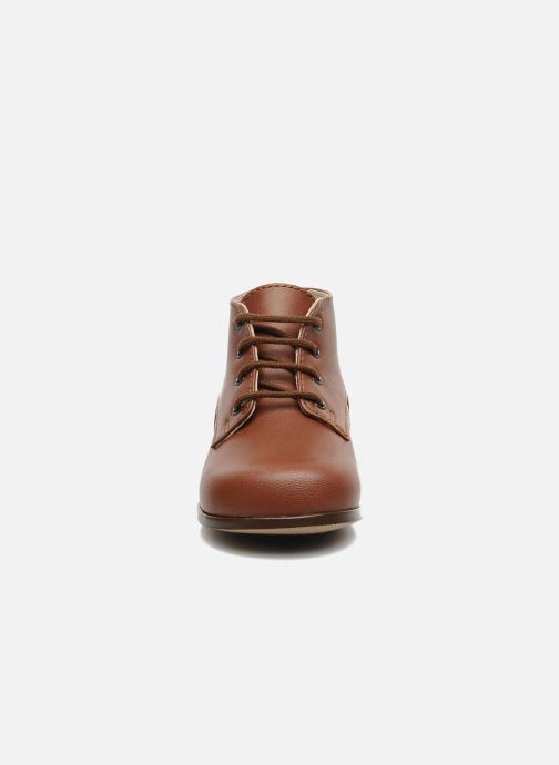 Ankle boots Little Mary Miloto Brown model view