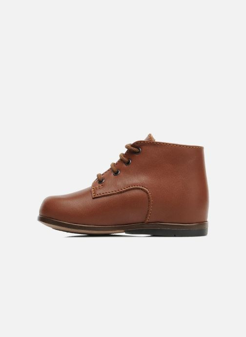 Ankle boots Little Mary Miloto Brown front view