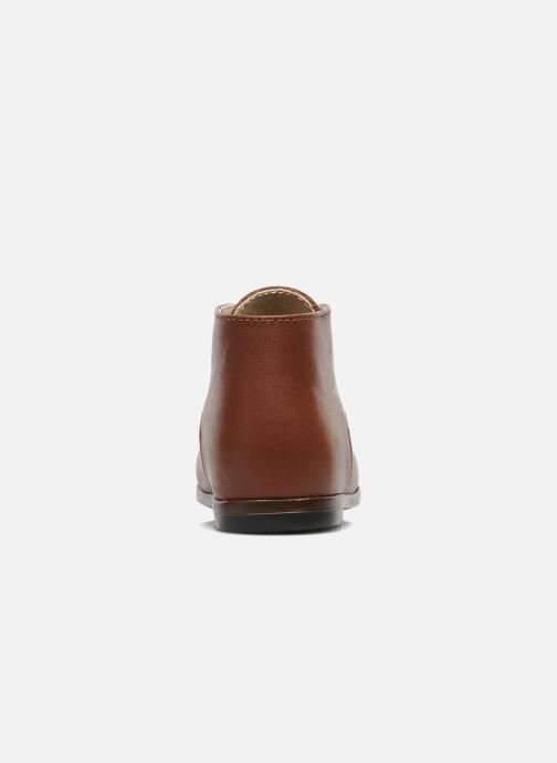 Ankle boots Little Mary Miloto Brown view from the right