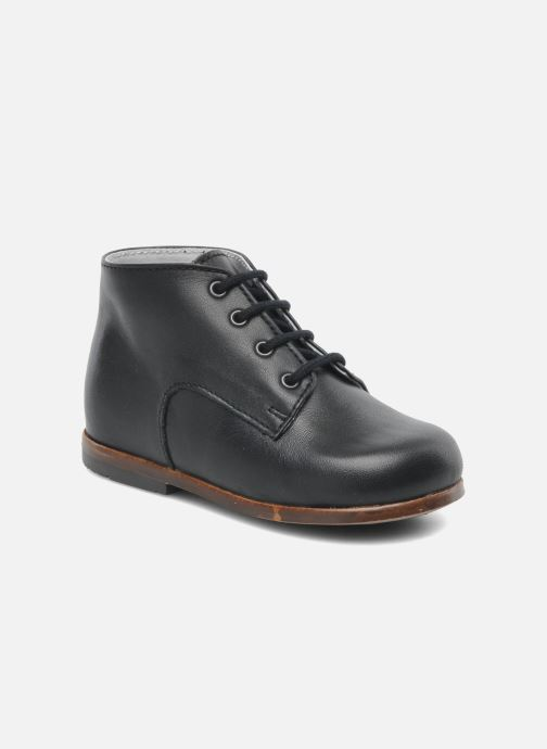 Ankle boots Little Mary Miloto Black detailed view/ Pair view