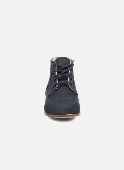Ankle boots Little Mary Miloto Blue model view