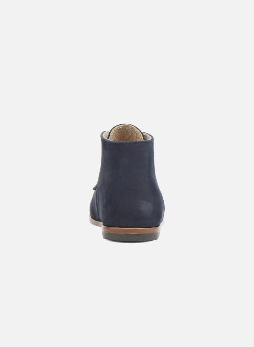 Ankle boots Little Mary Miloto Blue view from the right