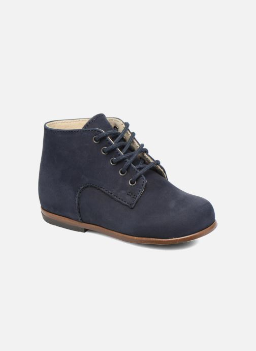 Ankle boots Little Mary Miloto Blue detailed view/ Pair view