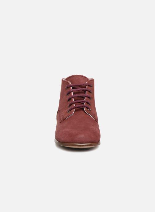 Bottines et boots Little Mary Miloto Bordeaux vue portées chaussures