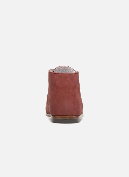 Bottines et boots Little Mary Miloto Bordeaux vue droite