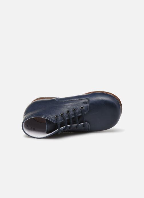 Bottines et boots Little Mary Miloto Bleu vue gauche