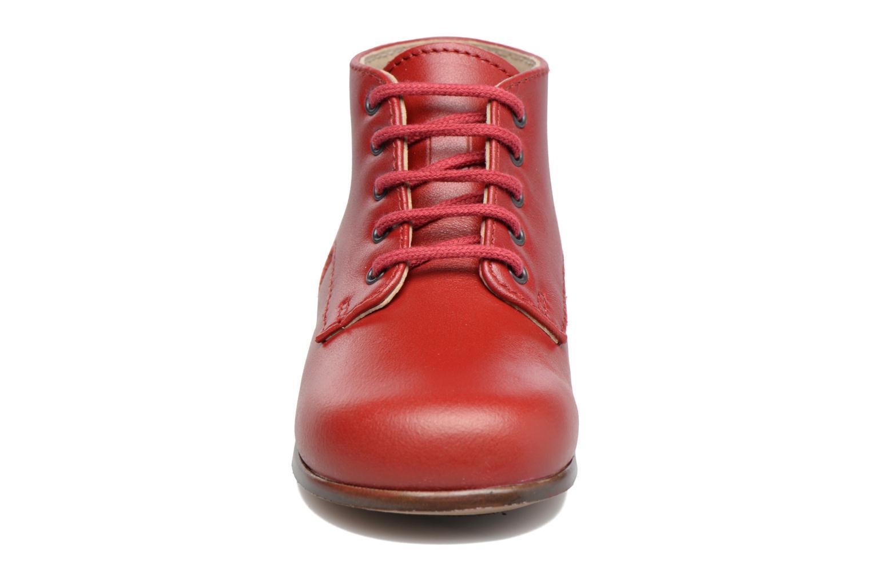 Bottines et boots Little Mary Miloto Rouge vue portées chaussures
