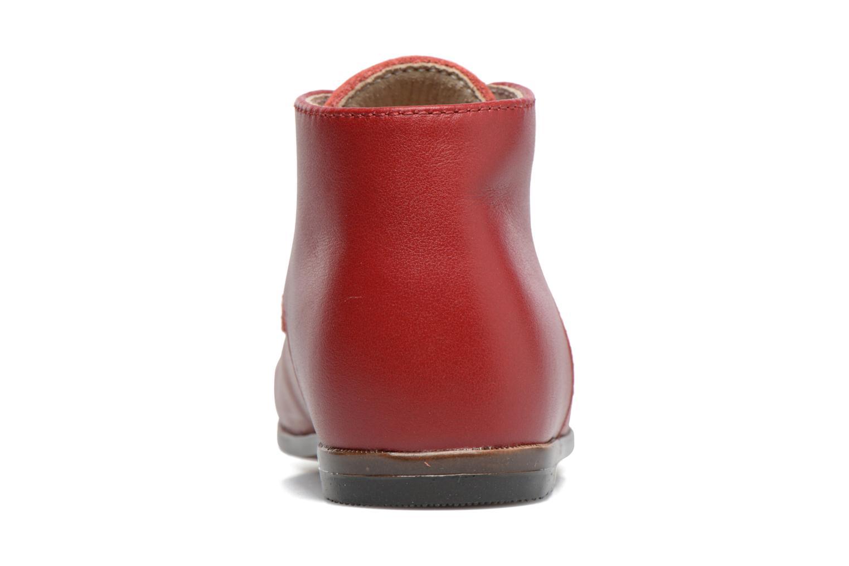 Bottines et boots Little Mary Miloto Rouge vue droite