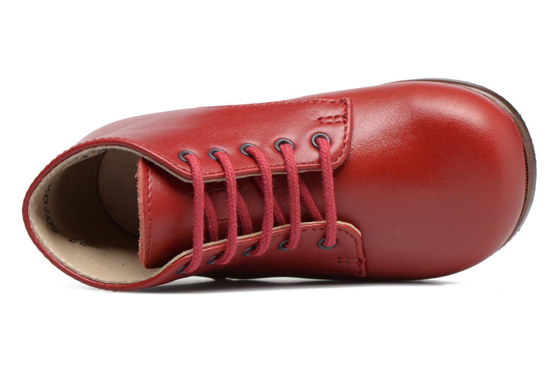 Bottines et boots Little Mary Miloto Rouge vue gauche