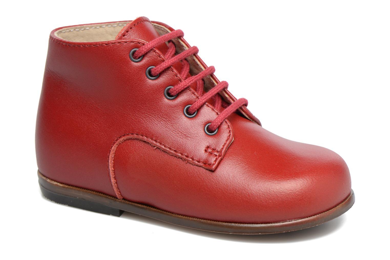Bottines et boots Little Mary Miloto Rouge vue détail/paire