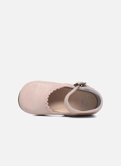 Ballet pumps Little Mary Vocalise Pink view from the left