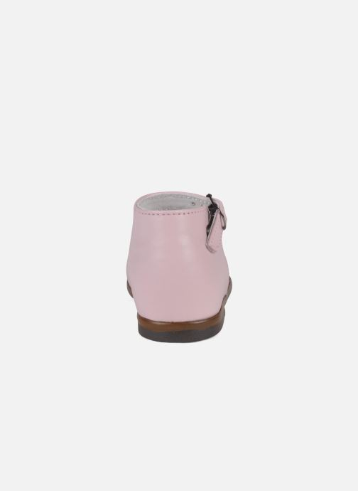 Ballerines Little Mary Vocalise Rose vue droite