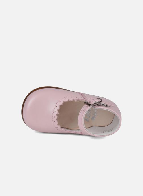 Ballerinas Little Mary Vocalise rosa ansicht von links