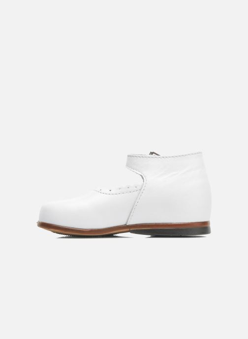 Ballerines Little Mary Vocalise Blanc vue face
