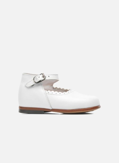 Ballet pumps Little Mary Vocalise White back view