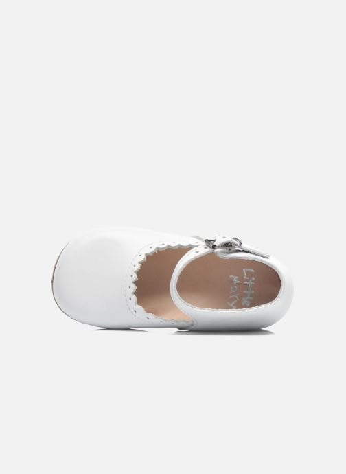 Ballet pumps Little Mary Vocalise White view from the left