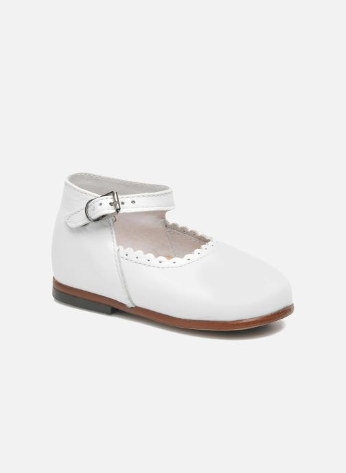 Ballet pumps Little Mary Vocalise White detailed view/ Pair view