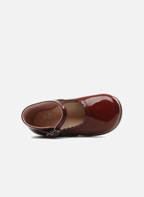 Ballerines Little Mary Vocalise Rouge vue gauche
