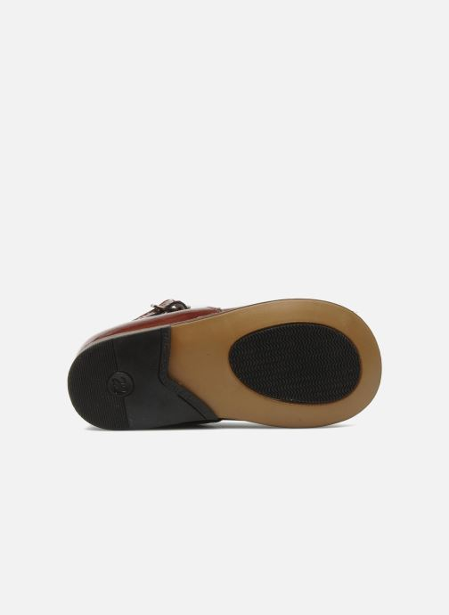 Ballerines Little Mary Vocalise Rouge vue haut